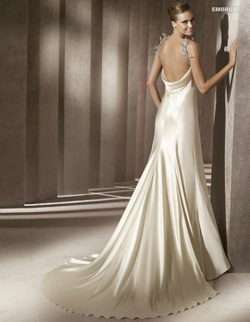 vestido novia espalda descubierta - barcelona - foro bodas