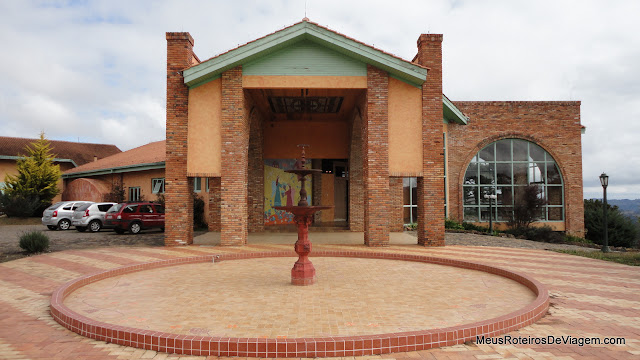 Sede da vinícola Villa Francioni - São Joaquim/SC