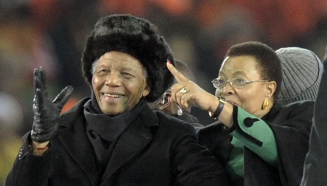 Mandela died from pneumonia in South Africa