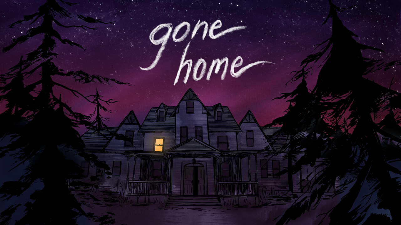 Gone Home game poster