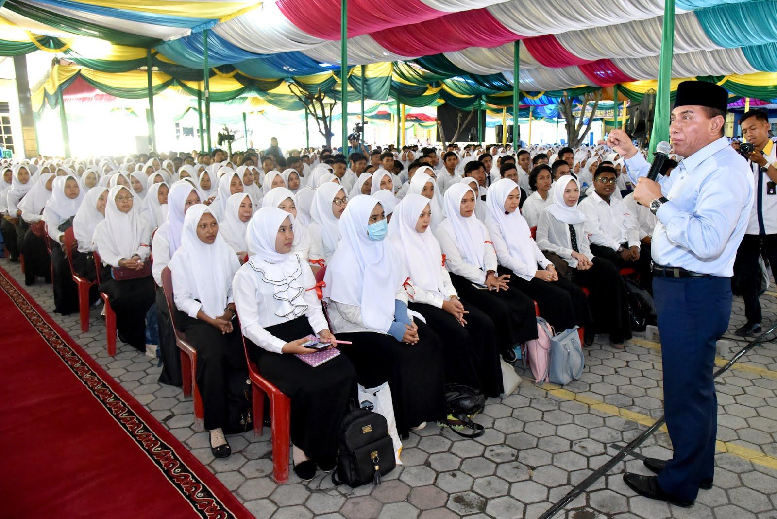 Membangun Sumut, Gubsu Edy Rahmayadi : Mahasiswa Punya Cita-cita Tinggi