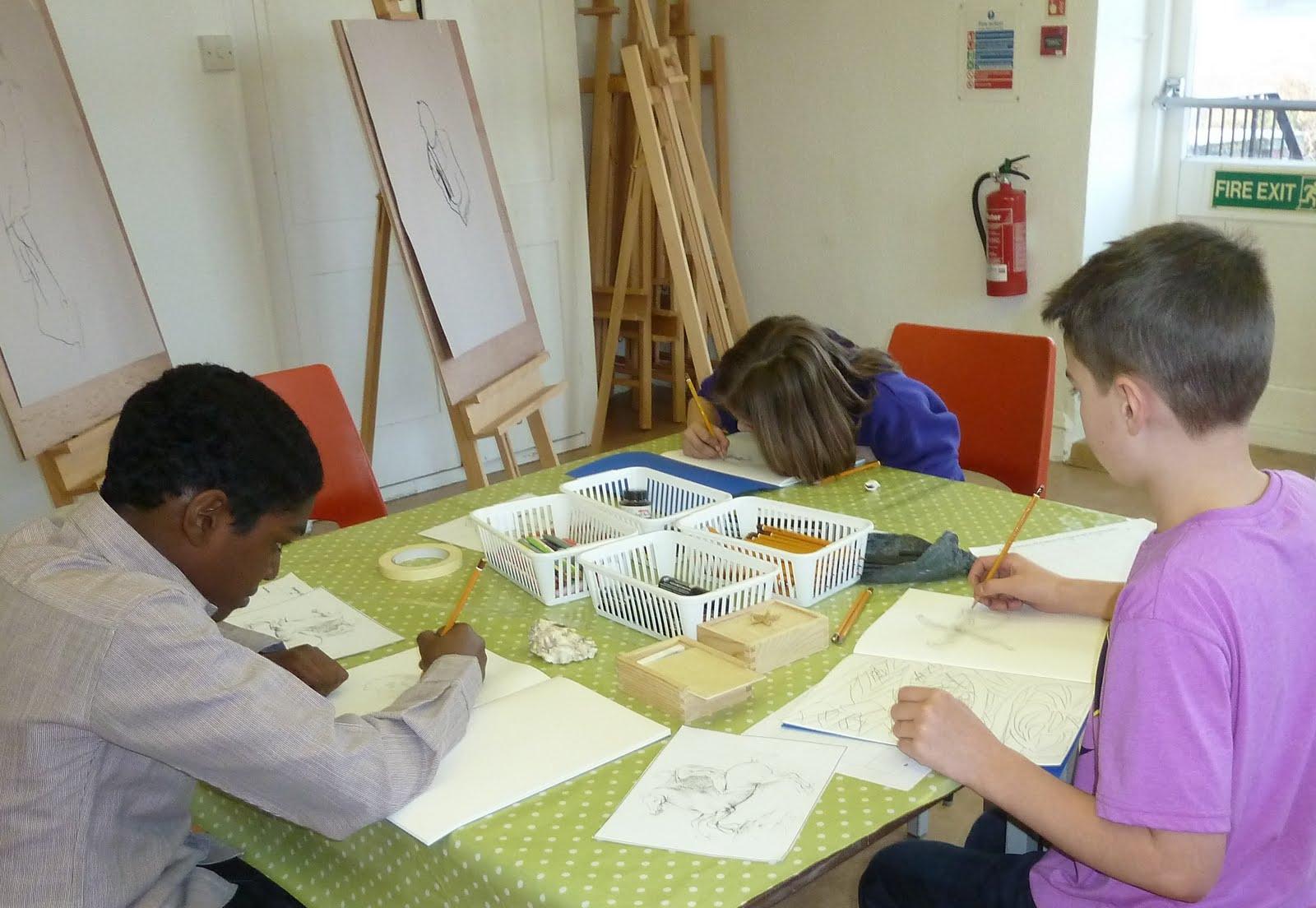 Line Drawing Ks2 : South east school of art work in progress ks drawing week