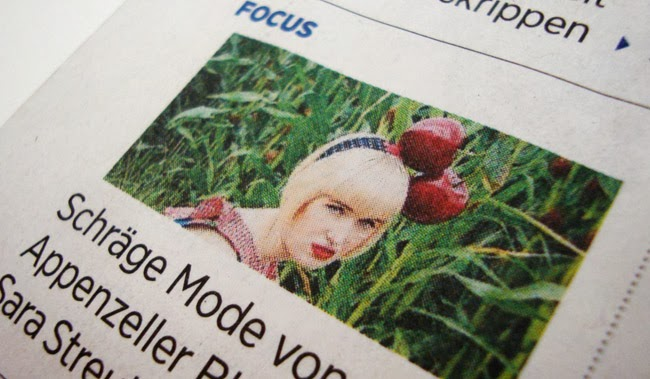 tagblatt, cherry fascinator, blogger