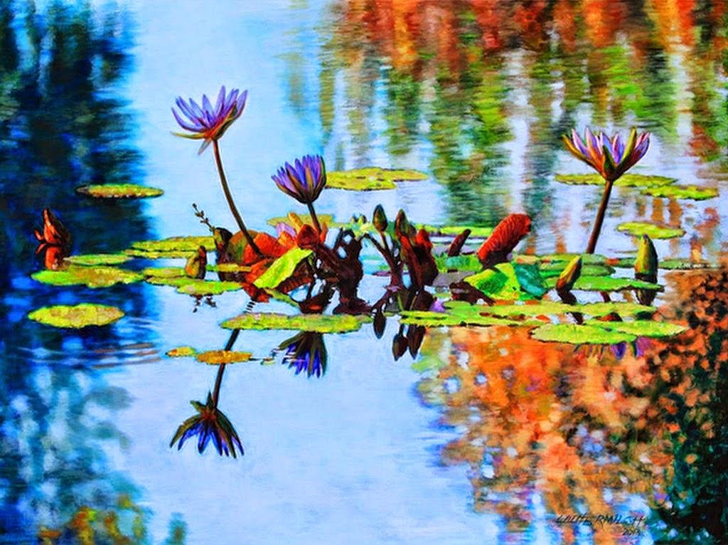 Imagenes de paisajes hermosos con flores holidays oo - Cuadros con fotos ...