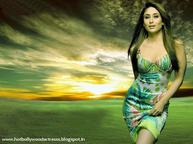 Kareena Kapoor without Dress wallpapers 2012
