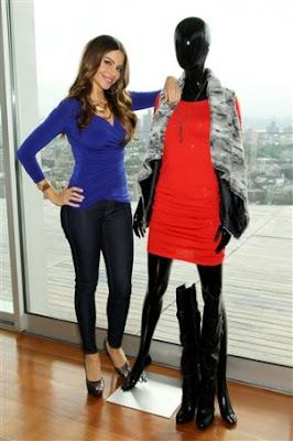 Sofía Vergara diseñadora en Nueva York