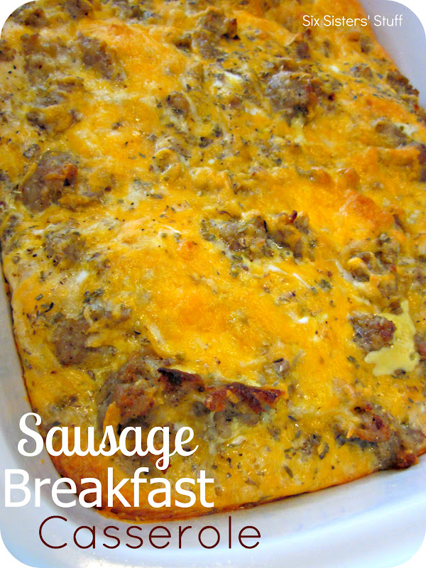 Sausage Breakfast Casserole Recipe | Six Sisters' Stuff