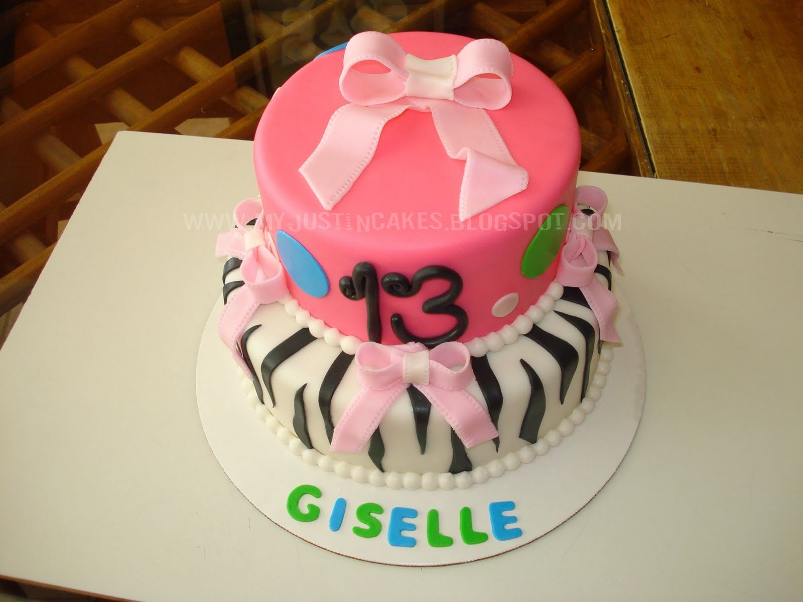13 Year Old Girl Birthday Cake Just In Cakes