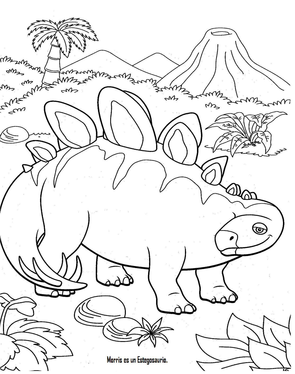 Image Result For Dinosur Coloring Page