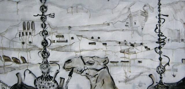 Алла Волобуева, Курящий кальян, 2009