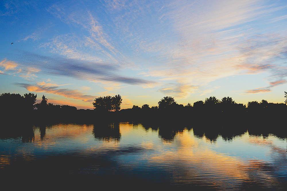 Fall season, autumn season, beautiful places, montreal, quebec, sunset