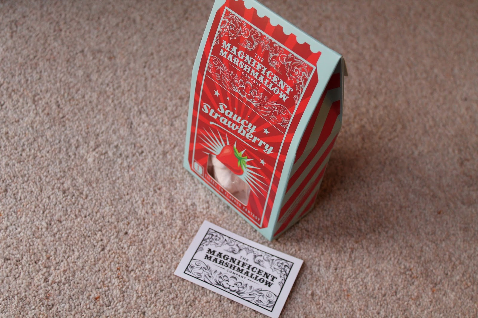 Magnificent Marshmallow Company - Saucy Strawberry