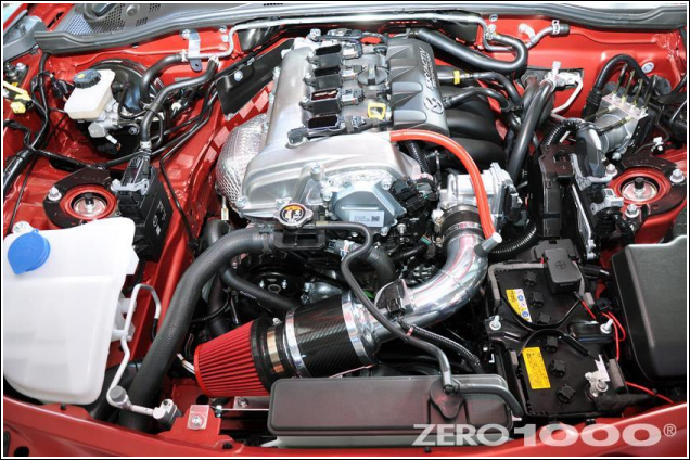 Mazda MX-5 Roadster ND Intake Induction Kit from Zero1000