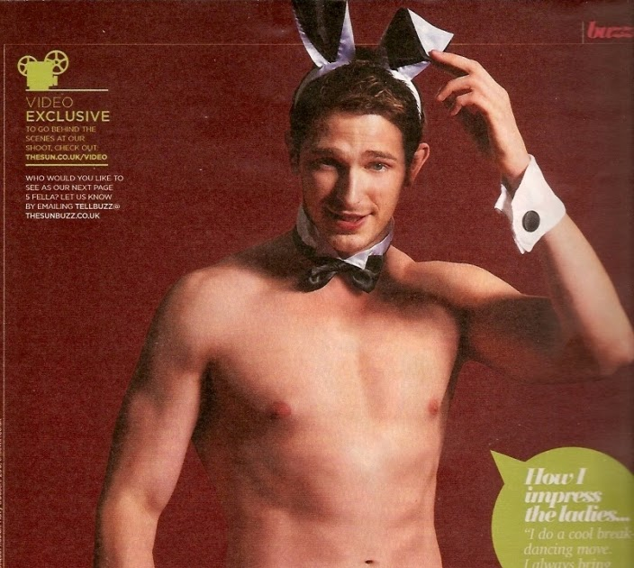 topless & naked male celebrities: Rob Norbury shirtless