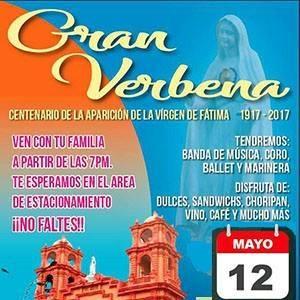 Serenata Virgen de Fatima en Lima 2017