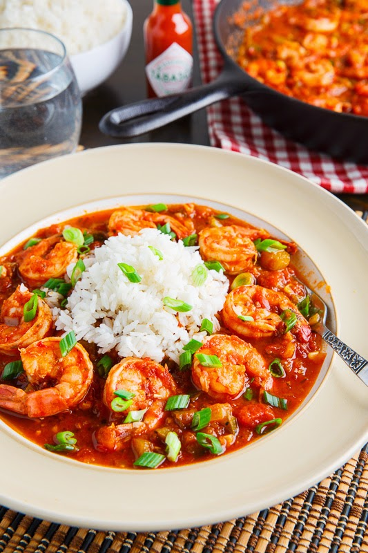 Shrimp Creole on Closet Cooking