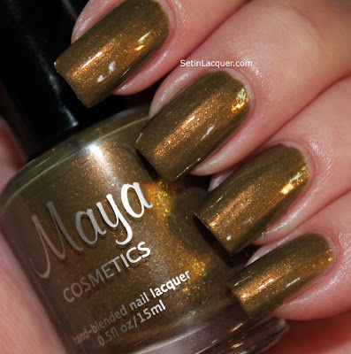Maya Cosmetics Hex nail polish
