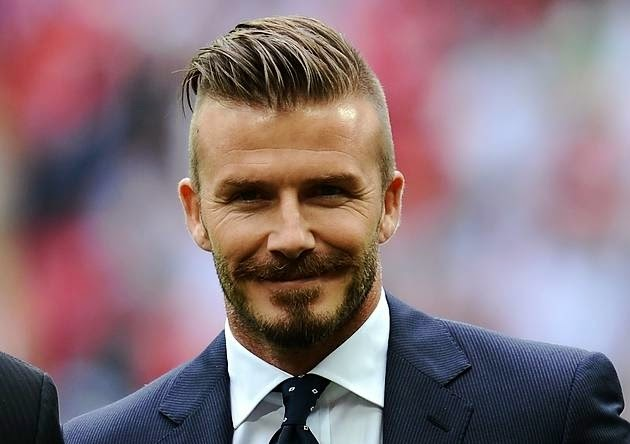 DAVID BECKHAM THROUGH THE YEARS OF A HAIRSTYLE ICON THE MALE - Hairstyle beckham 2012