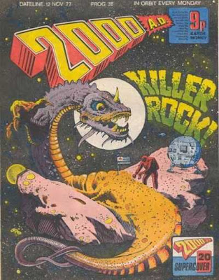 2000 AD #38, November 1977