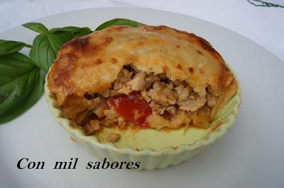 PASTEL DE CARNE (MEAT PIE)