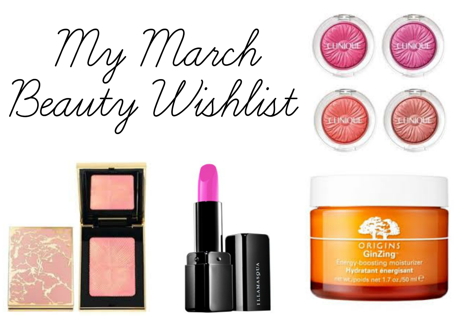 March Beauty Wishlist
