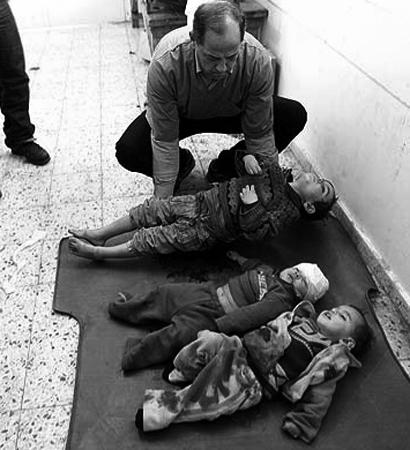 Solo matamos palestinos