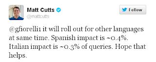 Matt Cutts replies gfiorelli1
