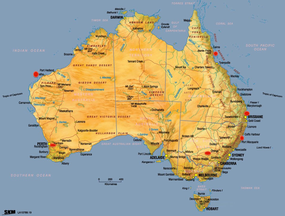 The Village Woodworker Xmouse and New Yers And Lots of Driving – Driving Map of Australia