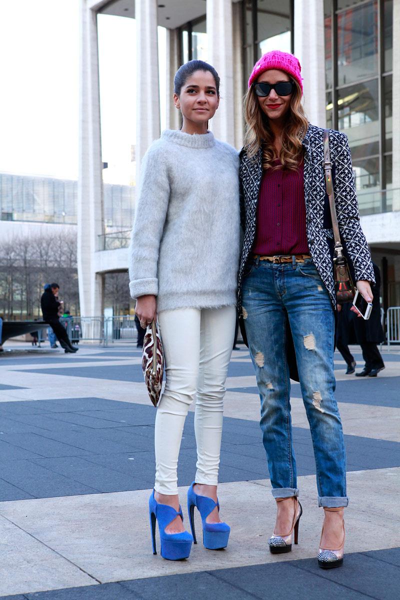 New York Fashion Week Street Style Women 39 S Corner