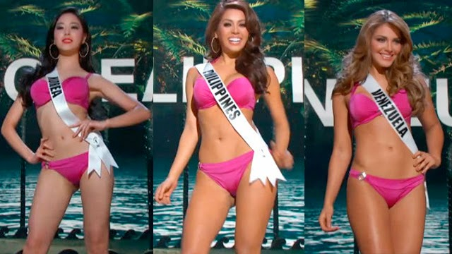 Replay of Miss Universe 2015 Preliminary Presentation