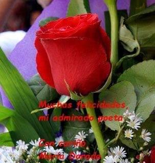 Felicitación de María Dorada