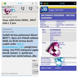 Toko Blazer Online Bandung