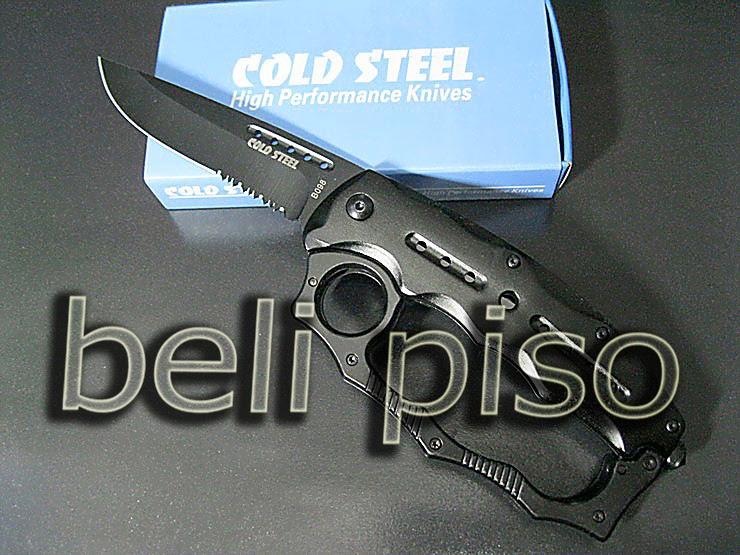 Jual Knuckle + Pisau Lipat Cold Steel B.098 belipiso.com