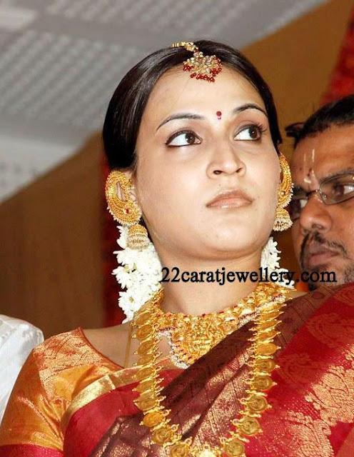 Aishwarya Rajini Kanth Wedding Jewellery Jewellery Designs