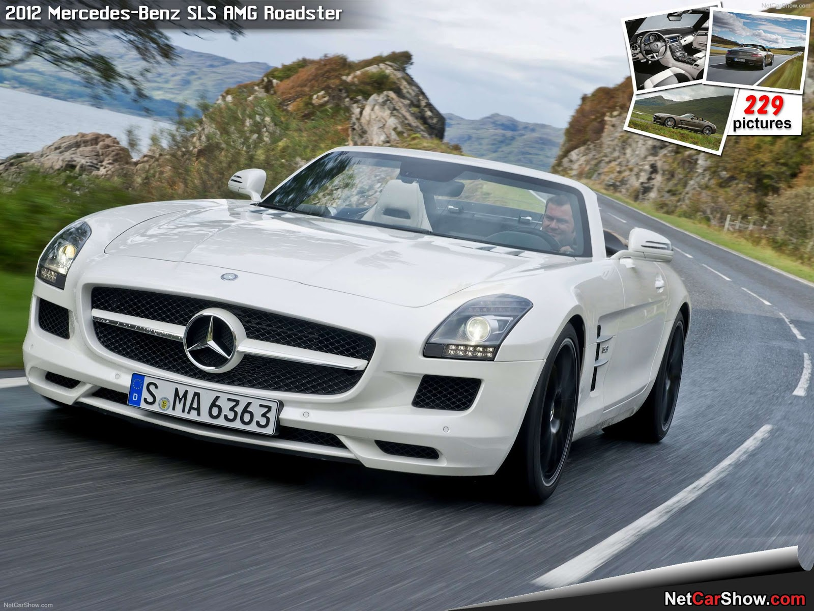 sports cars mercedes benz 2012 model