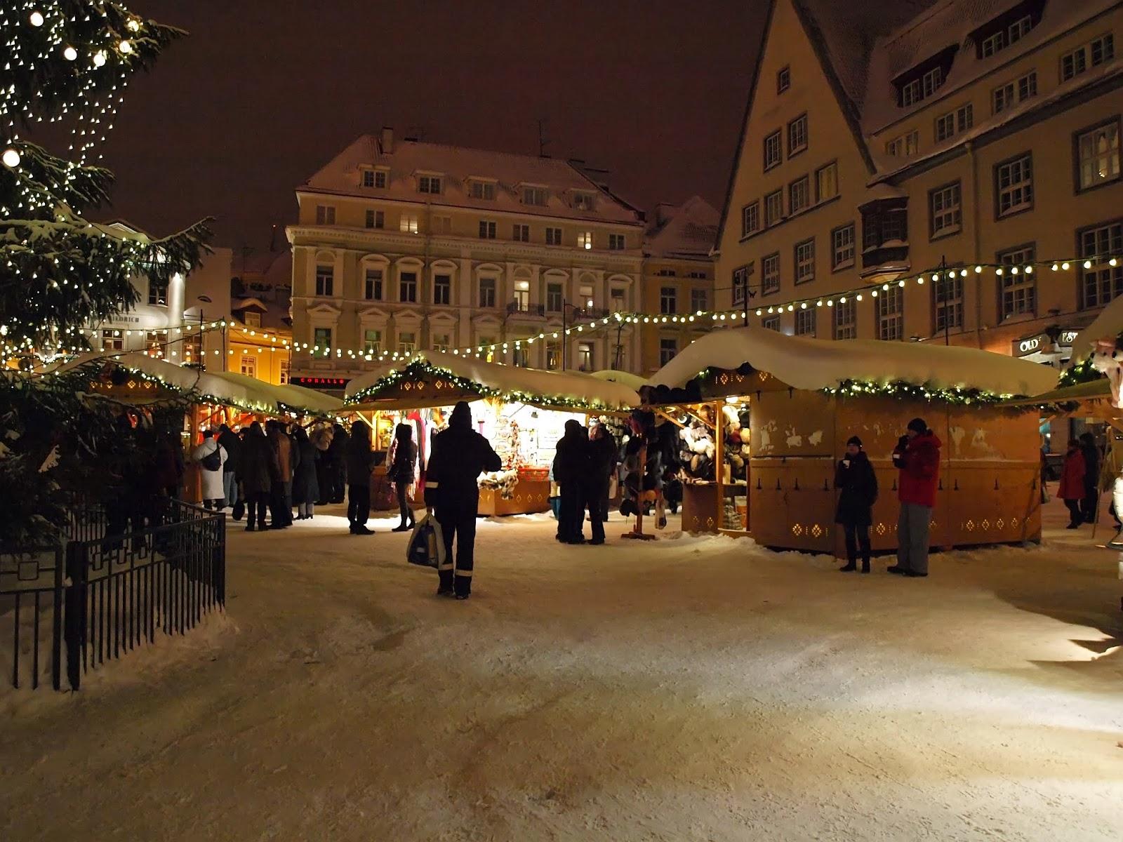 Новогодние праздники в Таллинне