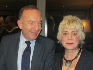 *Pierre GATTAZ, Président du MEDEF & Morgane BRAVO*