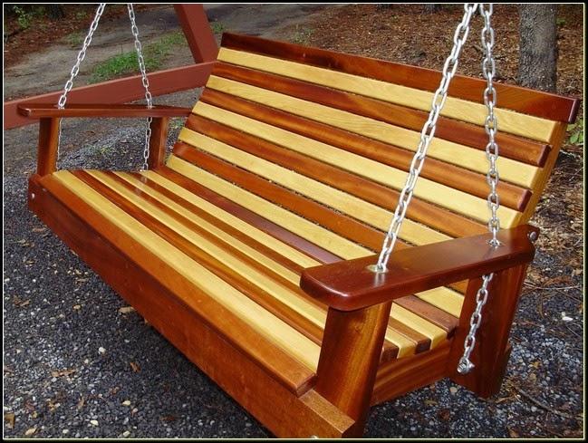 Cypress Porch Swing - Cypress Porch Swing - La Furniture Idea