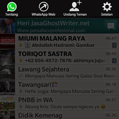 Kabar Gembira : WhatsApp sudah bisa digunakan via PC/Laptop