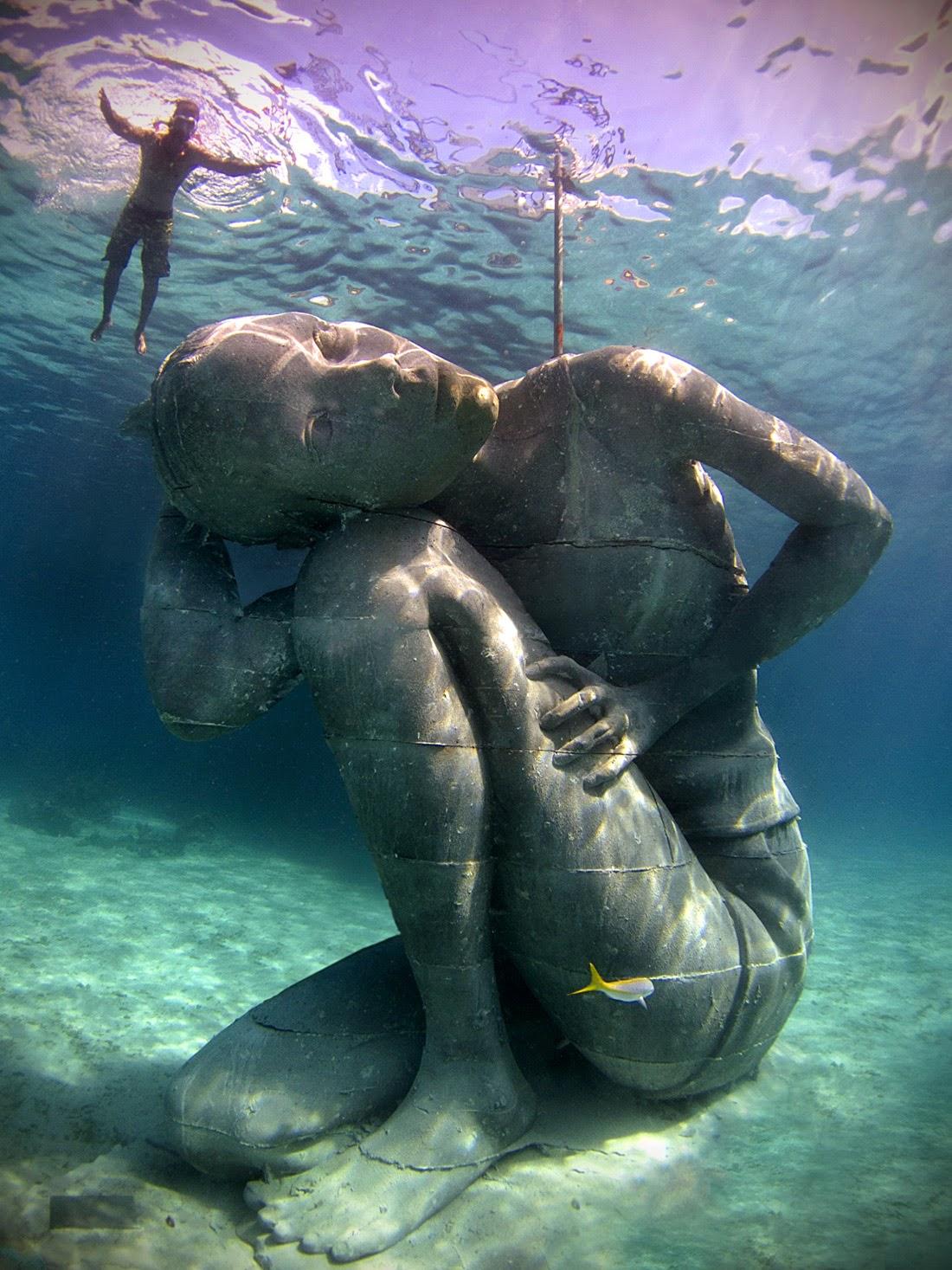 Ocean Atlas, la escultura submarina más grande del mundo