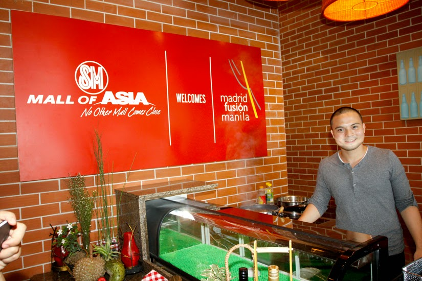 Chef Bruce Ricketts for Madrid Fusion Manila