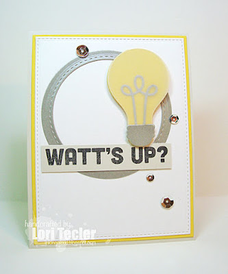 Watt's Up card-designed by Lori Tecler/Inking Aloud-stamps from My Favorite Things