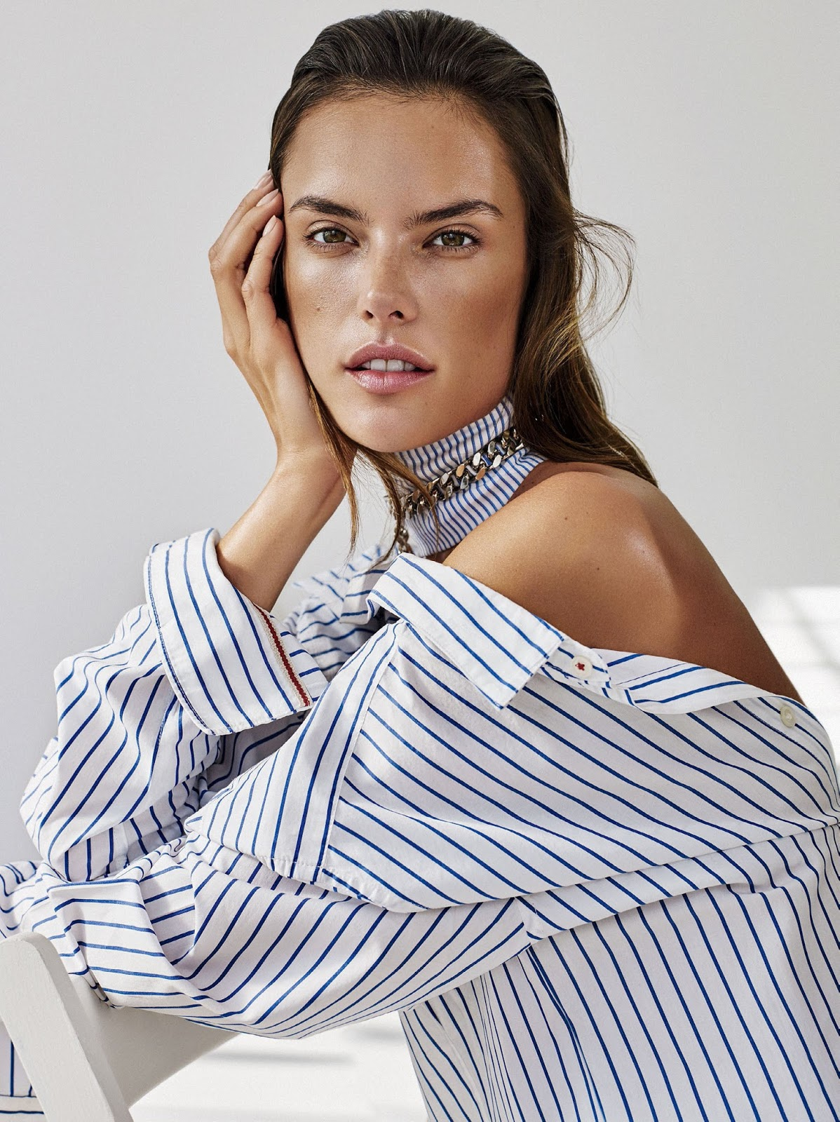 know your lines: alessandra ambrosio by alique for us ... Alessandra Ambrosio