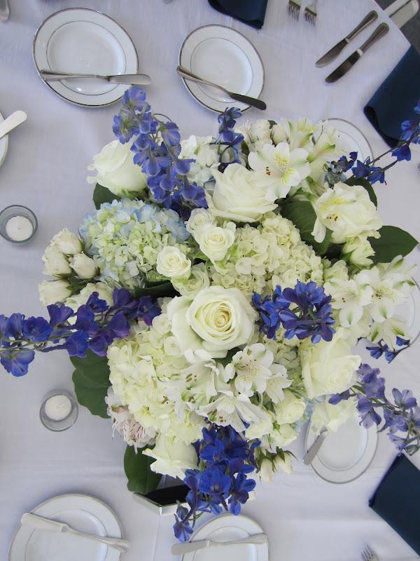 Light Blue Delphinium Wedding Bouquet