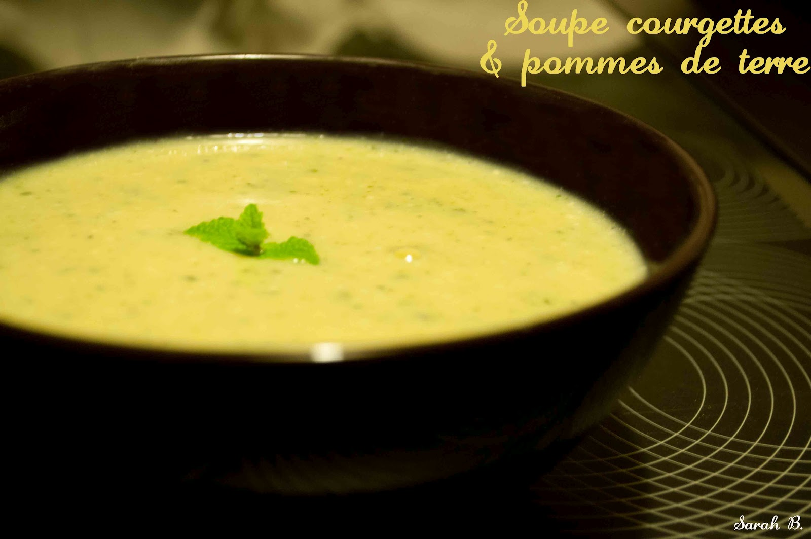 Delightful Soupe De Pomme De Terre #14: Soupe Light Courgettes U0026 Pommes De Terre