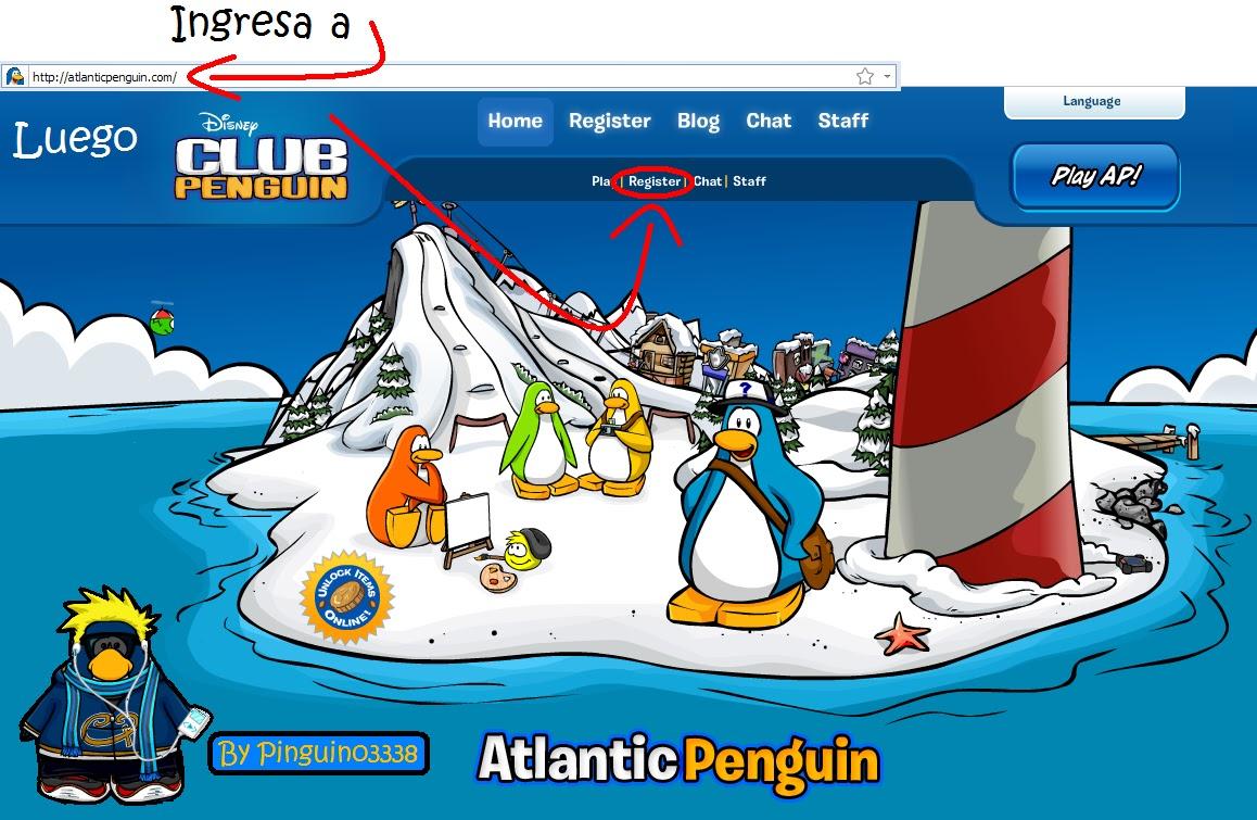 clic en atlantic penguin para entrar este es atlantic penguin