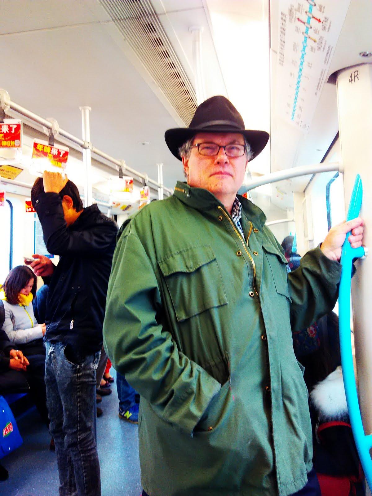 Me On Shanghai Metro