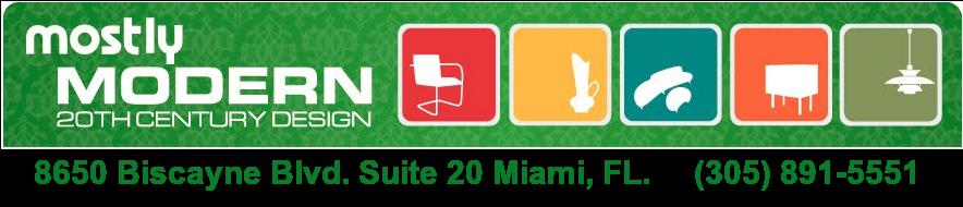 Mid Century Modern Miami Vintage Furniture Store