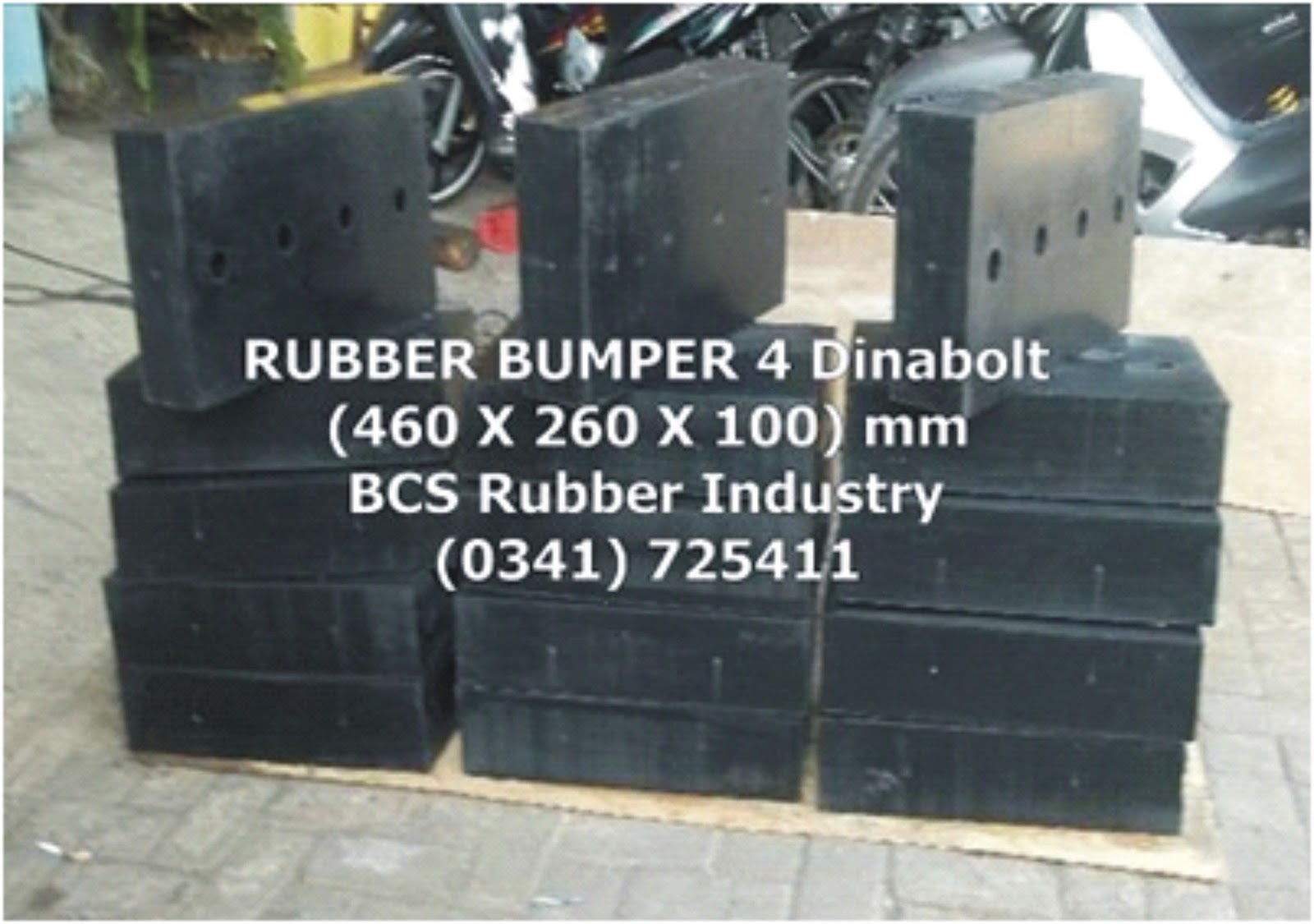 "Rubber Dock Bumper "" Pelindung Truk """