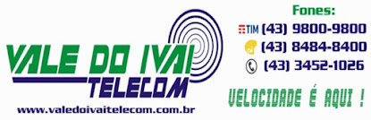 VALE DO IVAÍ TELECOM  CONECTANDO PESSOAS